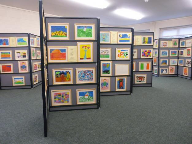 D Exhibition Uk : Cramond grand art exhibition primary school website