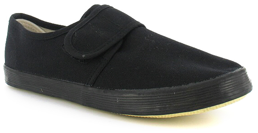 Childrens Black House Shoes