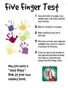 five-finger-test